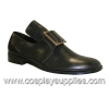 PILGRIM-10 Black Faux Leather